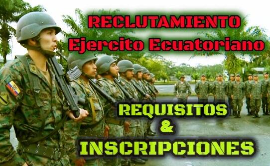 Ingresa al Ejercito como recluta y postula en calidad a soldado o Oficial Reclutamiento en linea ESFORSE ESMIL IWIAS