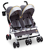 Jeep Scout by Delta Children Double Stroller, Spot On