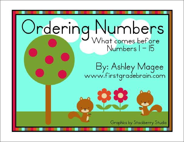 Free Math Center: What Number Comes Before?