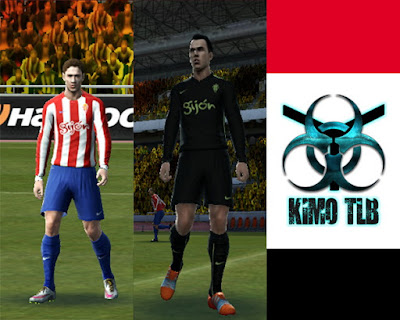 PES 2013 Sporting Gijon Home&Away Kit 2016-17 By KIMO T.L.B 19