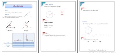 trigonometri proje ödevi