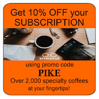 Get 10% your subscription using our promo code PIKE