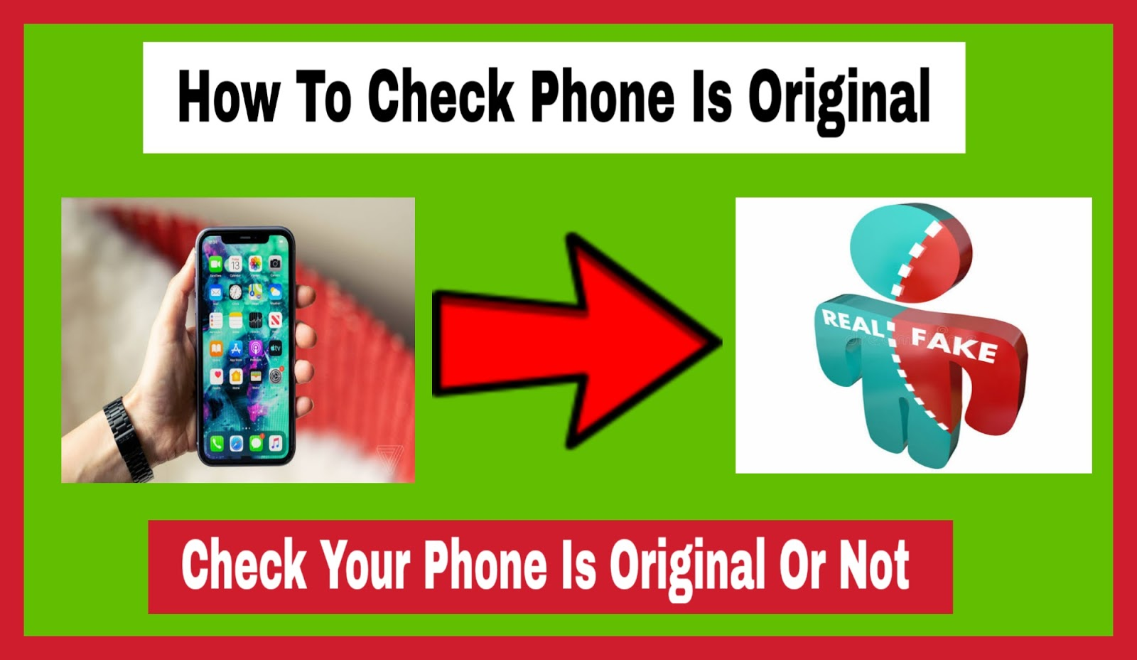 How to Check Phone Is Original
