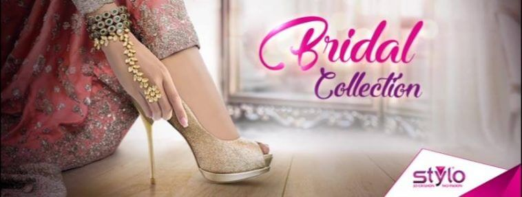 Renowned Pakistani Footwear Brand Stylo Shoes Bridal Collection 2017 Online