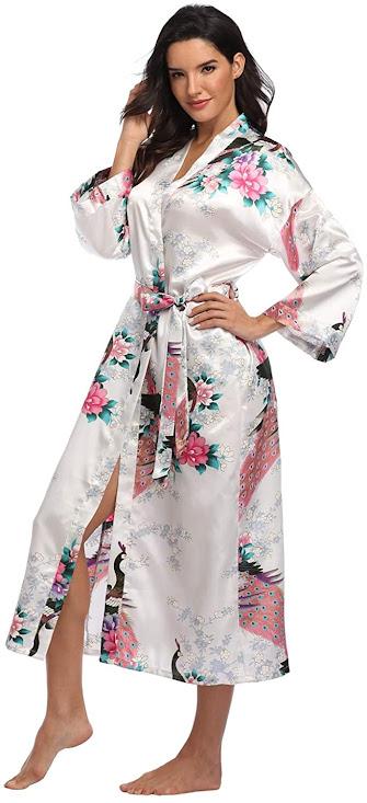Long Satin Robes