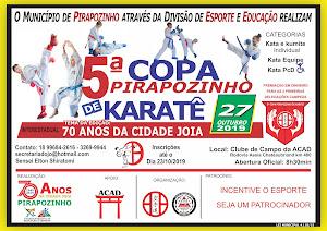 5ª Copa Pirapozinho de Karate