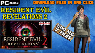 Resident Evil Revelations 2 PC Game Download In Parts