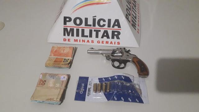 MONTE CARMELO: Polícia Militar prende autor por posse de arma de fogo em Monte Carmelo