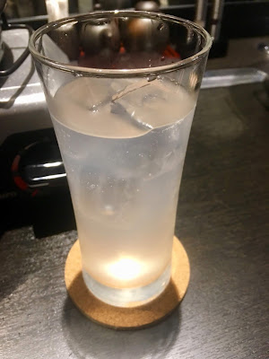 赤と霜の富士白レモンサワー