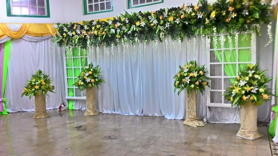 Jasa Vendor Dekorasi Bunga Pelaminan 029