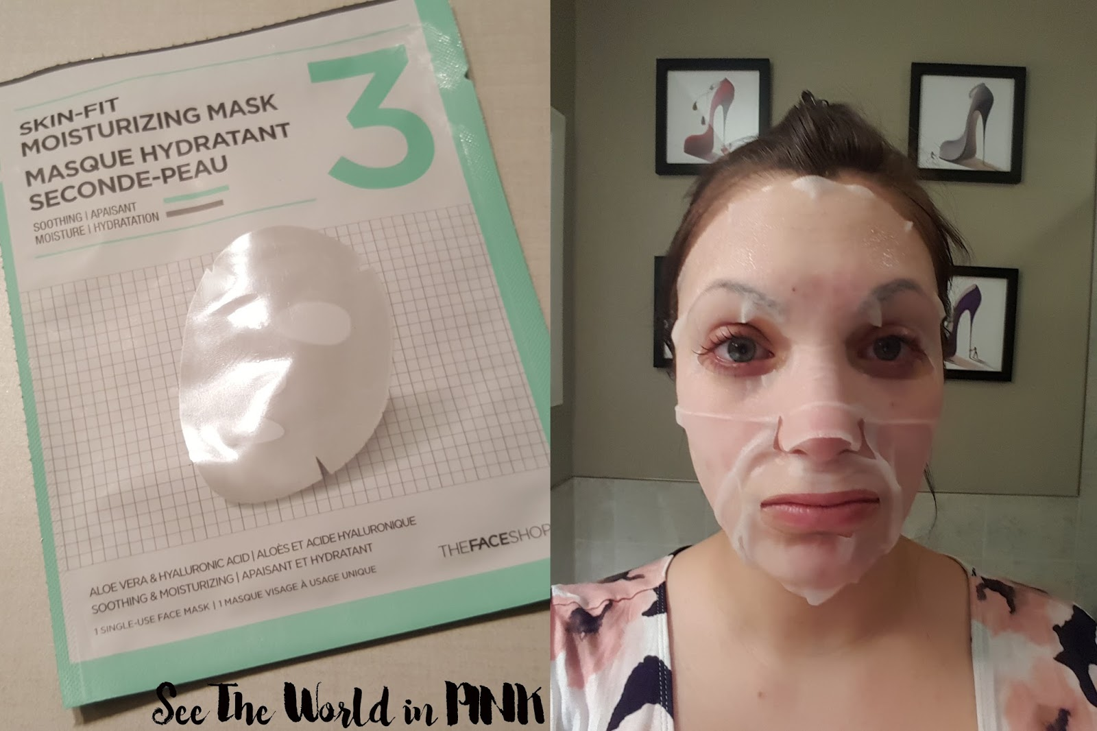 THEFACESHOP New 3-step Programming Kit Mask