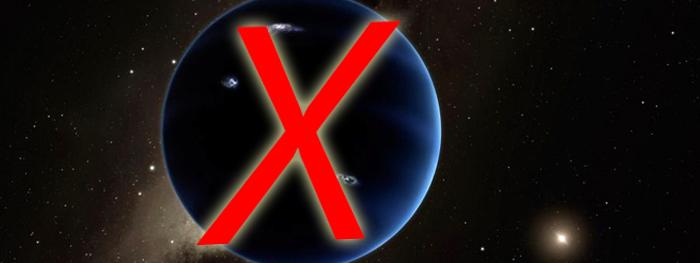 planeta x pode não existir