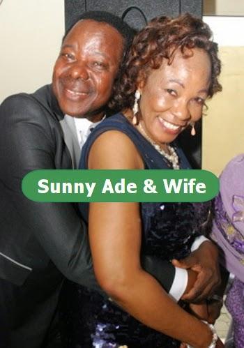 sunny ade wife politics