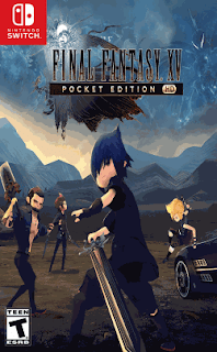 Final Fantasy XV Pocket Edition HD + Update – Switch Xci NSP