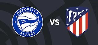 Resultado Alaves vs Atletico liga 25-9-21