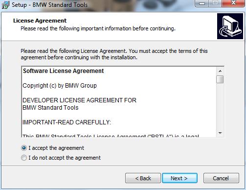 bmw standard tools 2.12