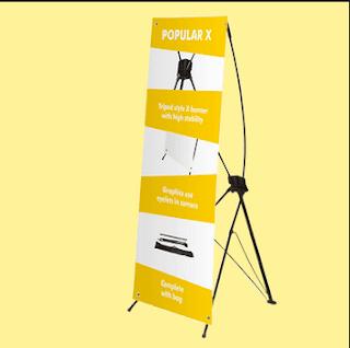 Jenis-Jenis dan Ukuran X Banner  Lengkap