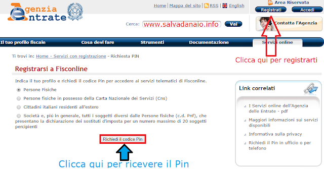 Come-registrarsi-Fisconline-Pin