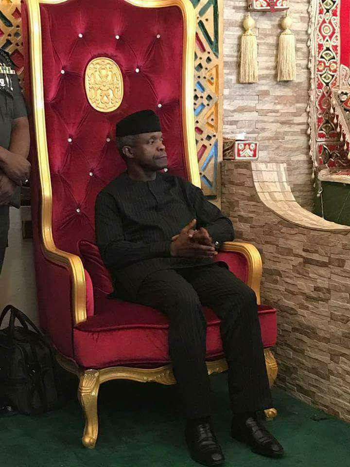 Enthroned by contentment at being Nigeria number two citzen