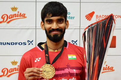 Kidambi Srikanth Becomes First Indian to Win Four Super Series