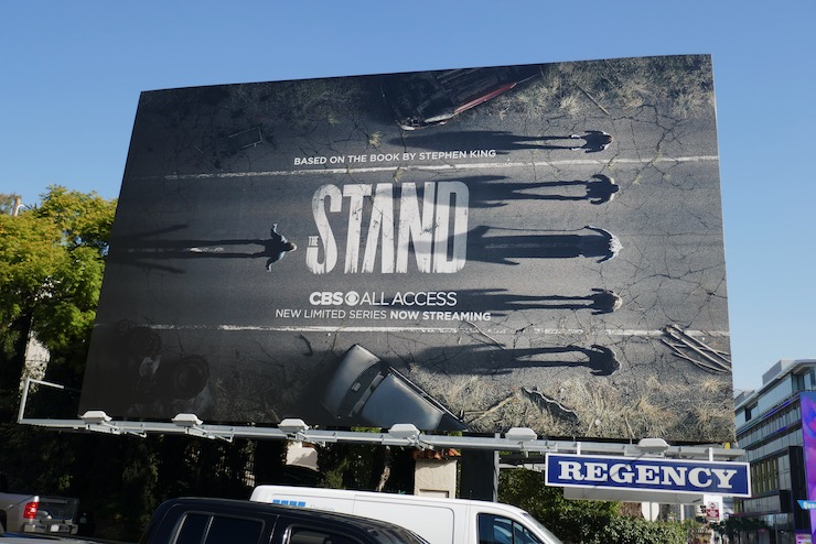 The Stand TV remake billboard