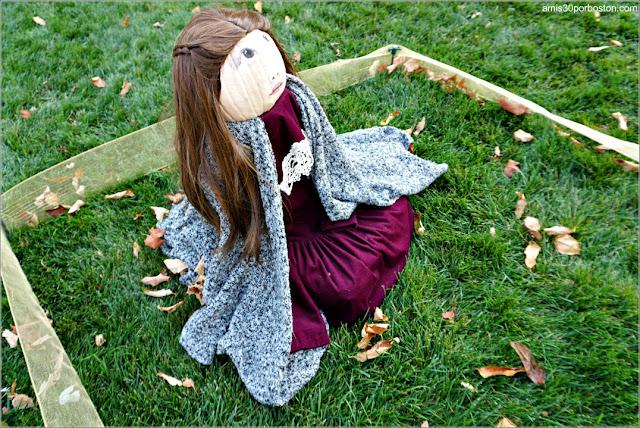 Lucy de las Crónica de Narnia Calabaza en New Hampshire