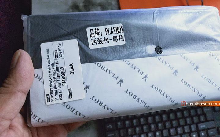 Shopping online dompet raya baharu di Shopee
