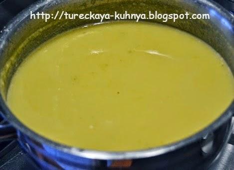 протертый суп из кабачков