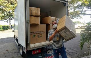 Governo envia 156 mil máscaras e insumos para Sudoeste da Bahia