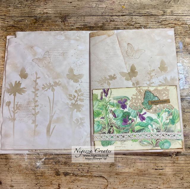 Edith Holden Junk Journal Series: Signatures & Pockets