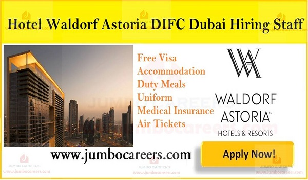 Dubai hotel job openings with salary and benefits, 5 star hotel jobs in UAE,