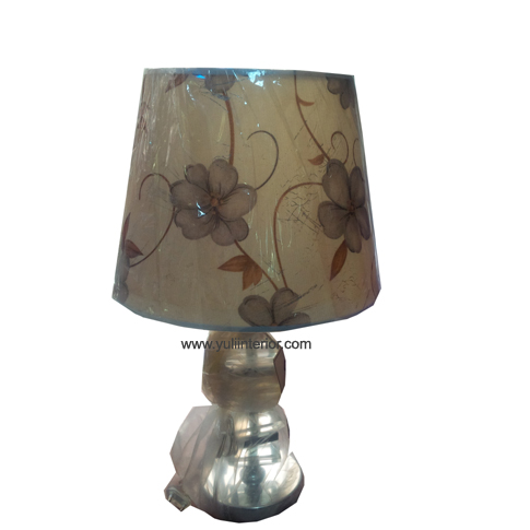 Glass Base Table Lamp, Nigeria