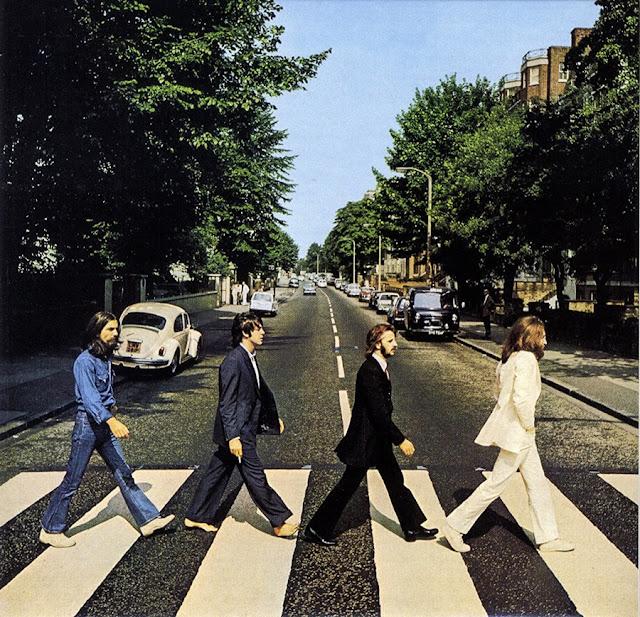 Os Beatles em Abbey Road, Londres