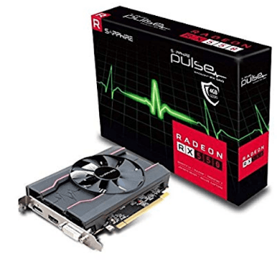 VGA Sapphire RX 550 2GB
