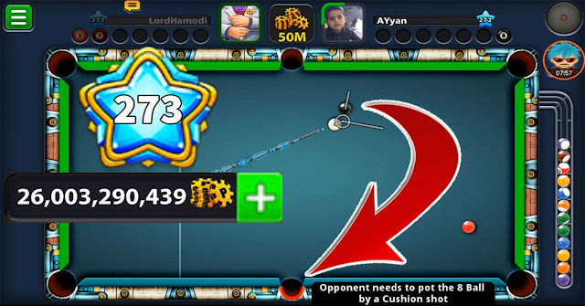 8 ball pool 26 Billion coins level 272 Play on Berlin