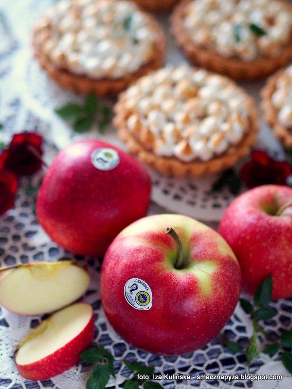 tartaletki jablkowe, nadzienie z jablek, jablka, red jonaprince, jablka grojeckie, owoce, czerwone jabluszka, ciastka