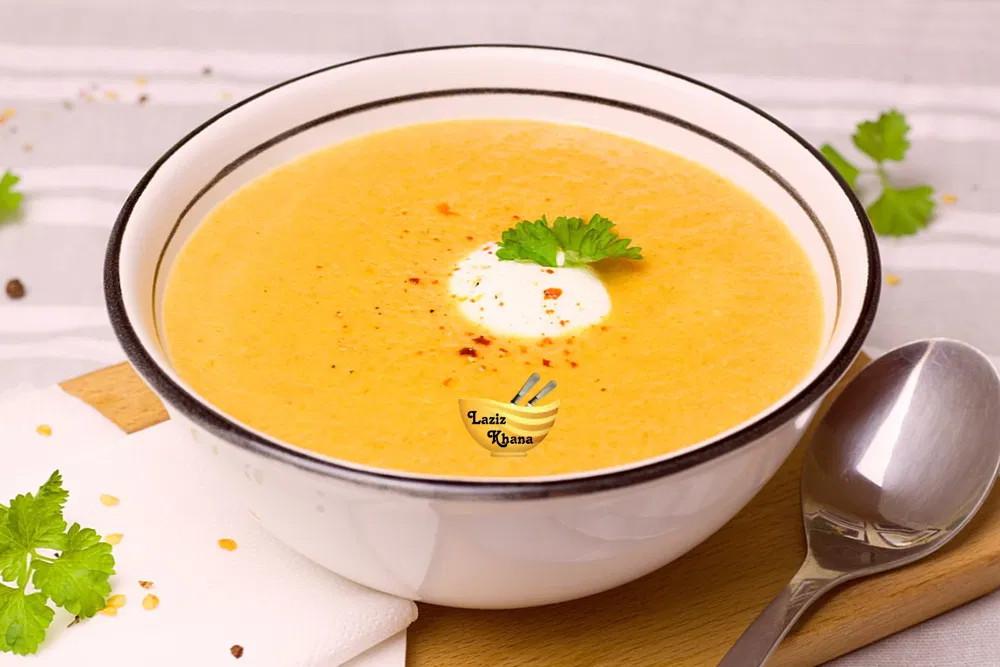 Carrot Soup Recipe in Hindi