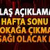 Reuters: Türkiye'de sokağa çıkma yasağı yeniden gündemde #haberler #saglık #covid #meb #ziyaselcuk #egitimonlineolsun #ogretmenlertakiplesiyor #sokagacikmayasagi