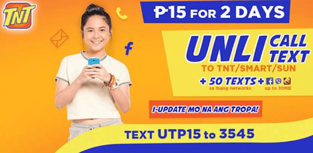 TNT UTP15 Promo