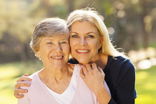 Women of all ages caring for each other and their health.