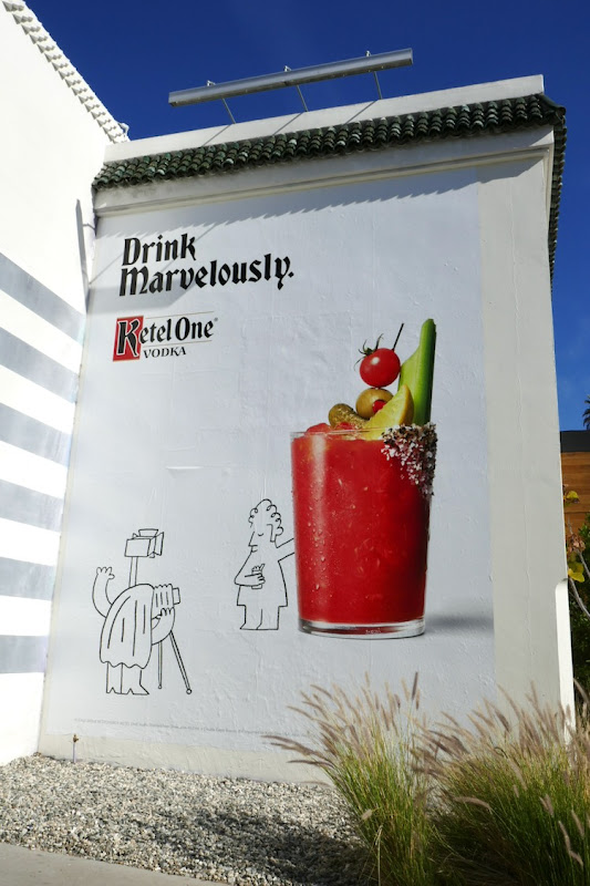 Drink Marvelously Ketel One Vodka billboard