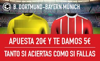 sportium promocion Borussia vs Bayern 4 noviembre