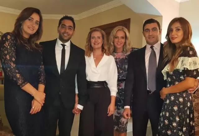حلا شيحة تعلن زواج هنا و احمد فولكس