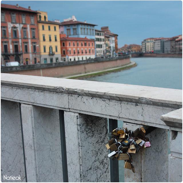 fleuve Arno Pise