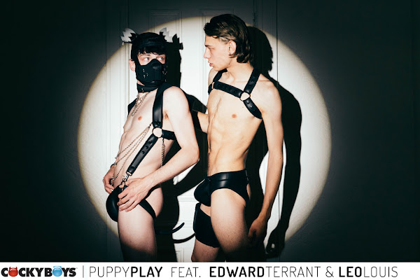 #Cockyboys - Puppy Play, an Artful Erotic Short film  featuring New Exclusive Leo Louis & Edward Terrant
