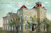 Kerr County Courthouse in 1907