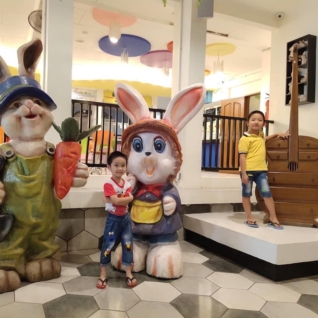 Keseruan di Rabbit Town Bandung
