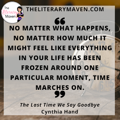 The Last Time We Say Goodbye by Cynthia Hand grapples with the tremendous grief and guilt that Alexis feels after her brother's suicide. She has broken up with her boyfriend, she's avoiding her friends, and she is worried about her mother who seems to be in an even more fragile state than she is. Read on for more of my review and ideas for classroom application.
