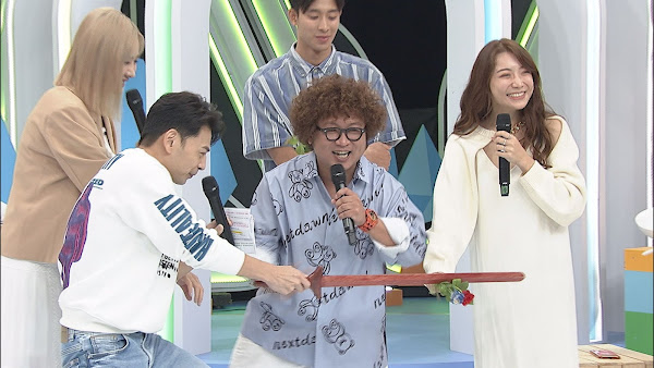 -(左)安心亞 阿Ken斬依依桃花 (中)納豆(右)依依
