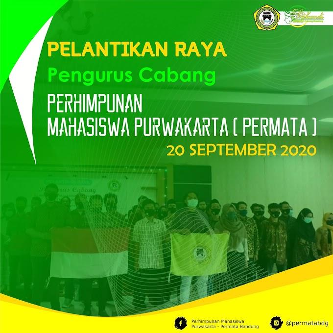 Pelantikan Pengurus Cabang PERMATA se-Indonesia